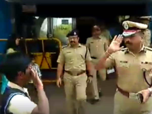 bengaluru top cop wins praise for saluting schoolboy