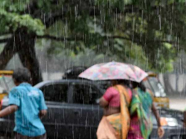 Light to moderate rain thundershower in TN says Met office
