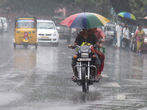 Chennai MET says that South TN coastal districts will get rainfall