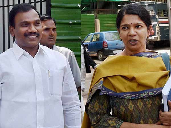 Delhi HC issues notice to A.Raja and Kanimozhi in 2G case