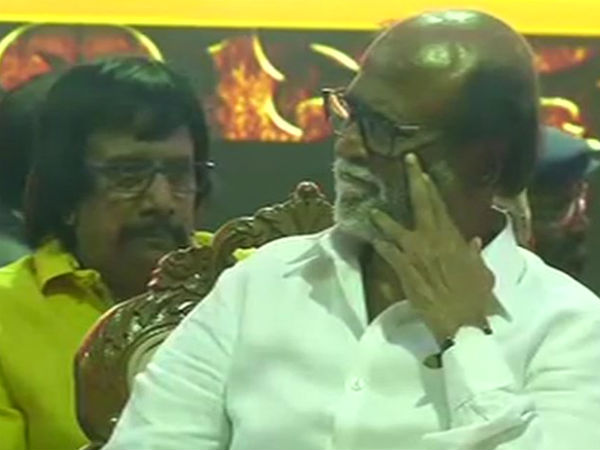 Rajini is not superstar, he is a leader says Cinema industry people in Chennai