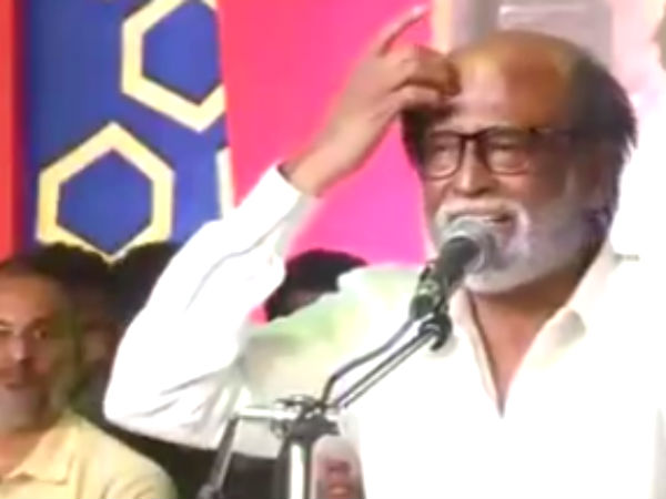Rajinikanth says about policies