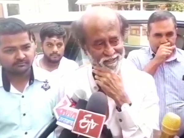 I have come here on a pilgrimage says Rajinikanth