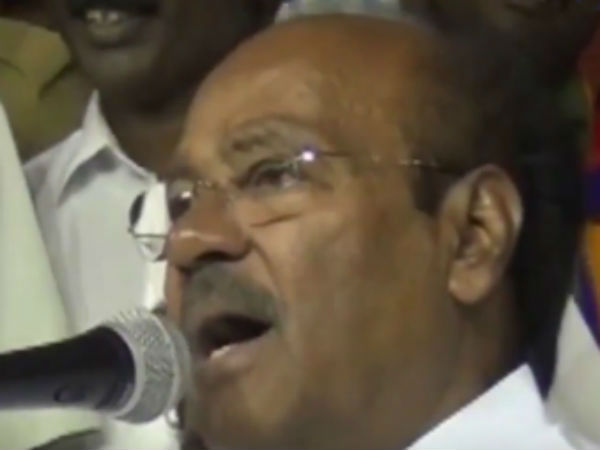 Ramadoss accuses ADMK conducts hunger strike drama