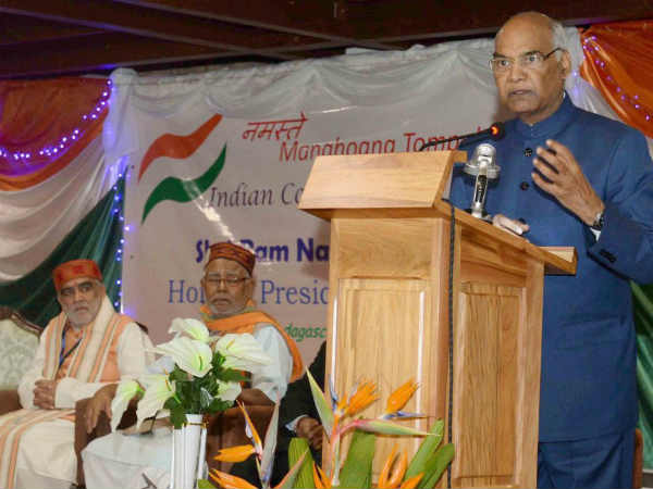 President Ramnath Kovind twitted in Tami