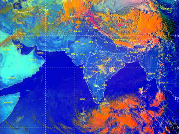 Storm is likely to occur in Tamilnadu coastal areas