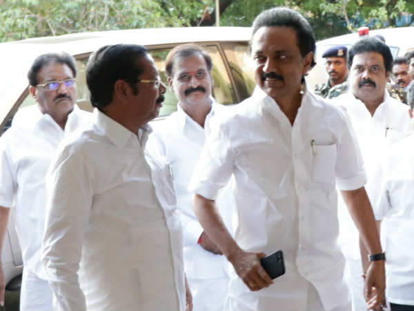 Dont praise me in the assembly, MK Stalin request DMK MLAs