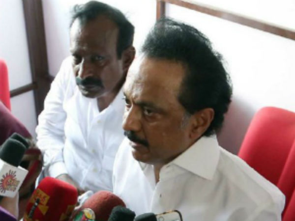 M.K.Stalin rejects the statement of DMK supporting Dravida Naadu