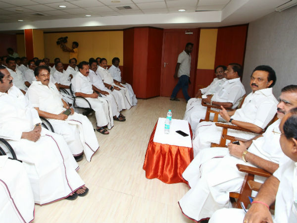 DMK called for urgent executive meeting on March 30