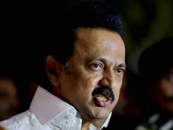 AIADMK to support a no-confidence motion against the central government: M.K.Stalin