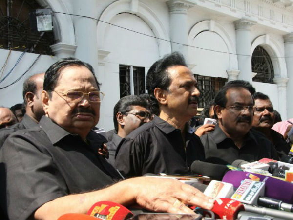 DMK walked out from the assembly over Cauvery