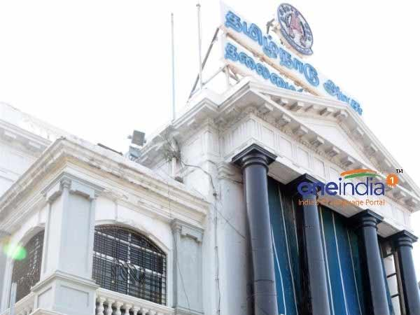 Chennai Secretariat staffs involve in protest