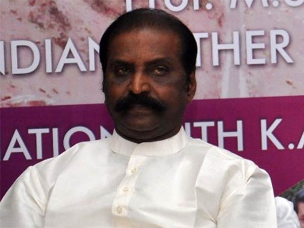 Lyricist Vairamuthu condemns centre for not forming CMB