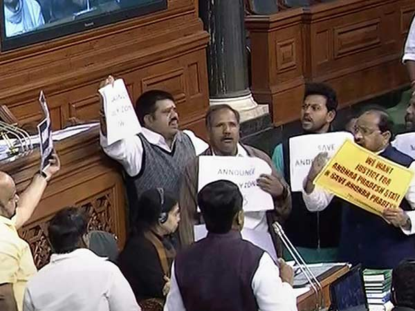 YSR Congress MPs decided to resign seeking special status for Andhra