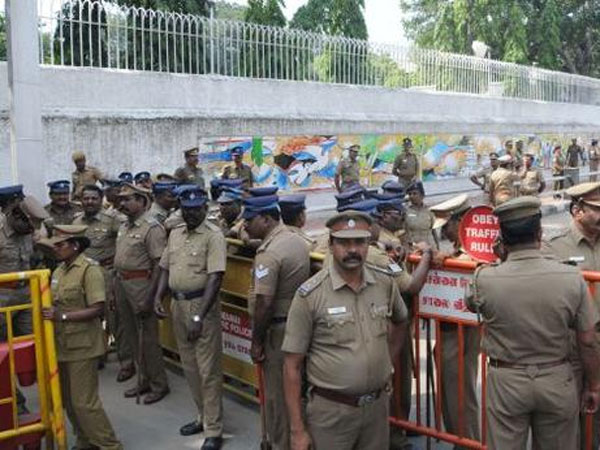 Police security tightened in Chennai for Prime Minister Modi arrival