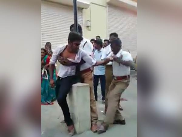 Tamilnadu Human Rights Commssion summoned Commissioner issue youth attack
