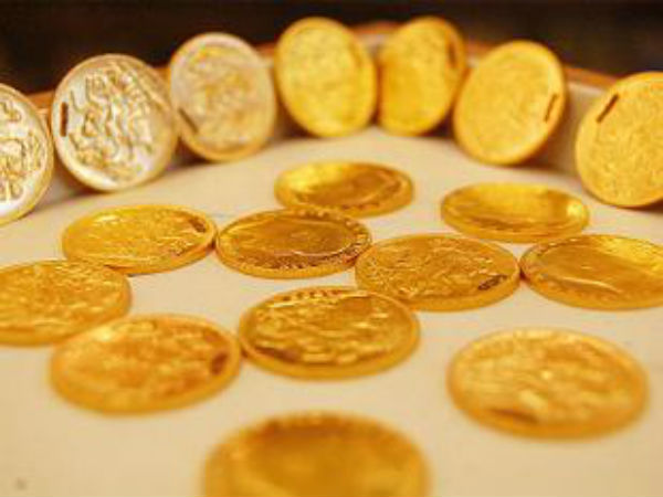 Gold coin provided for students in government school