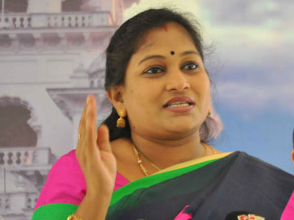 TDP MLA Anitha asks her to withdraw from TTD