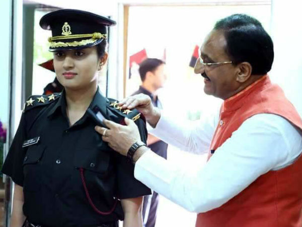 BJP MP Ramesh Pokhriyals daughter joins in Indian army