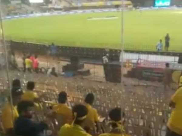 Chennai Chepauk Stadium not fills with fans, its mostly vacant