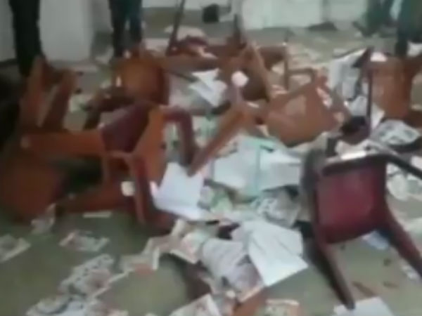 Congress workers vandalise party office in Chikmagalur