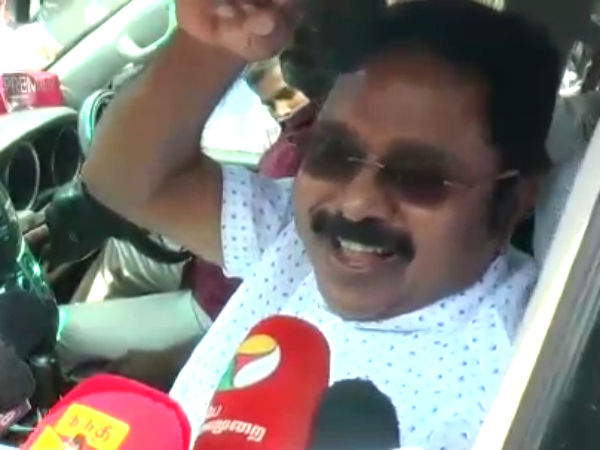 Protest will continue till Cauvery Management board set up: Dinakaran