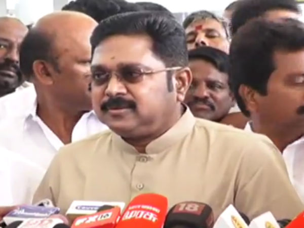 Government should hear Teachers Protest says TTV Dhinakaran