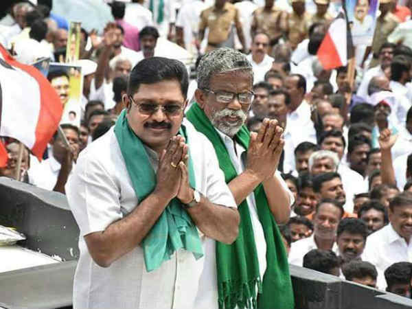 TTV. Dinakaran says soon his party will announce protests agc