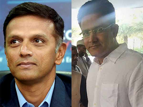 BJP woes Dravid and Kumble for Karnataka poll