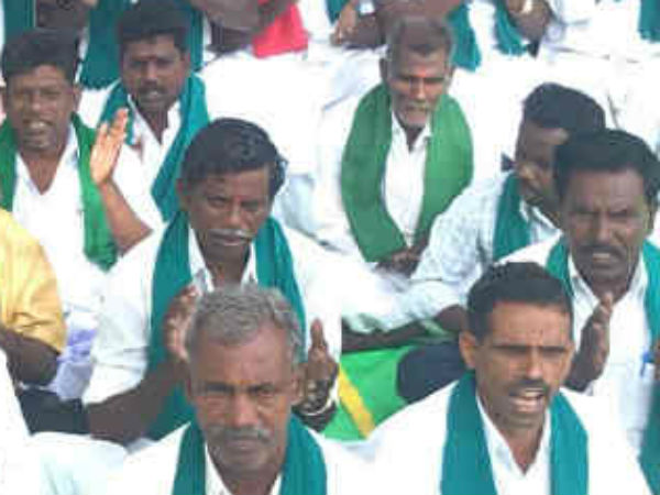 Young graduate farmers keeps hunger strike in Thanjavur to set up the Cauvery Management Board