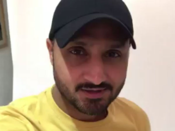 Harbhajan Singh expresses his Tamil New year wishes in Tamil
