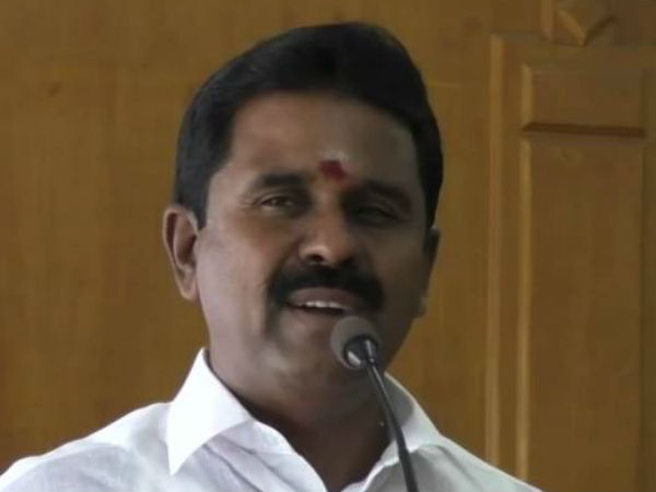 Minister Kamaraj spoke on the Cauvery issue in Kumbakonam