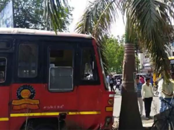 man steals public bus at boisar