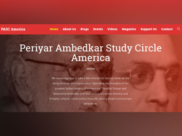 Periyar Ambedkar Study Circle America Released their Year Note