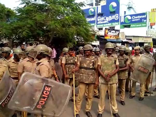 Police provided security to the cricketers in Chennai like PM