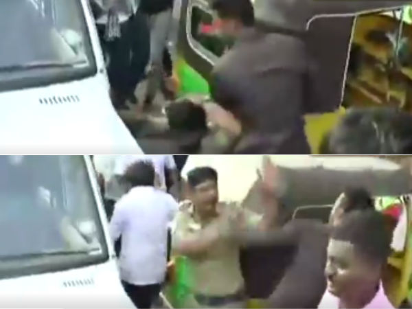 Why police attacked during IPL Protest?