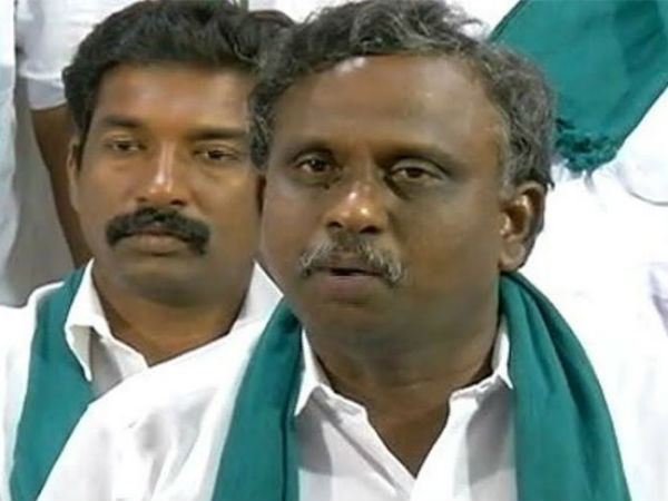 A two-wheeler vehicle campaign on the Cauvery issue:P.R.Pandian