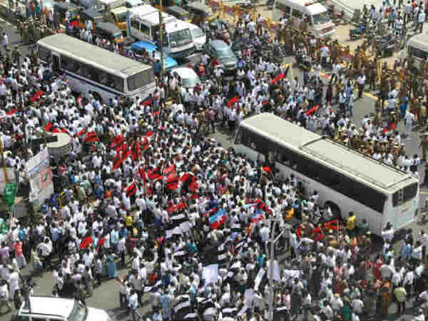 85,000 people released who got arrested in Cauvery bandh today