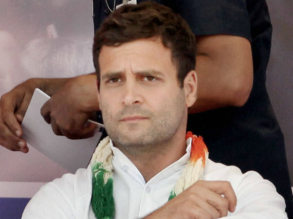 Rahul Gandhi declares congress rule in next parliament election