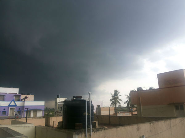 Thunderstorm accompanied with gusty winds says met office Chennai