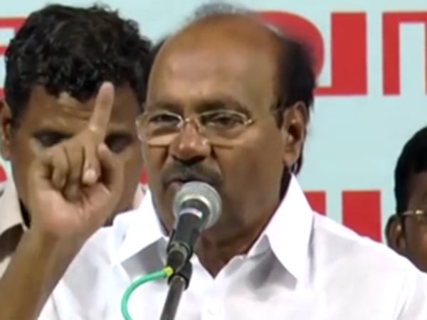 Central Government is trying to kill our farmers says Ramadoss