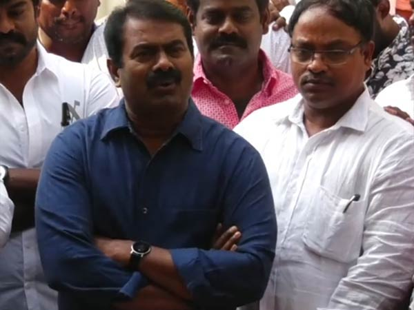 Why Defence Ministry doing Expo in Chennai questions Seeman