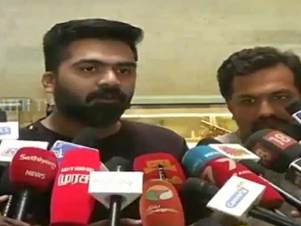 I am not doing anything for political intention: Actor Simbu