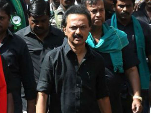 Stalin says Modi government should with draw the cases filed against Cauvery judgement