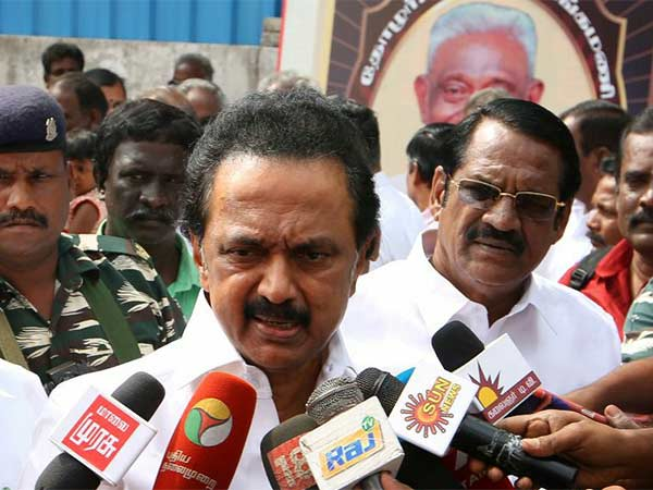Does not care about the punishment we have in the Cauvery issue: Stalin