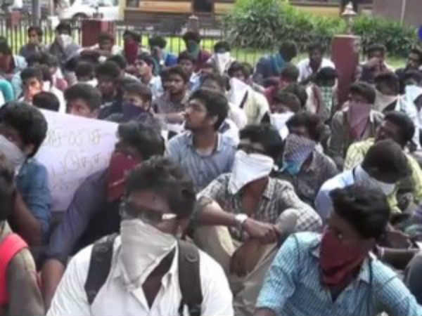 Cauvery management board: Students protest in Delta district