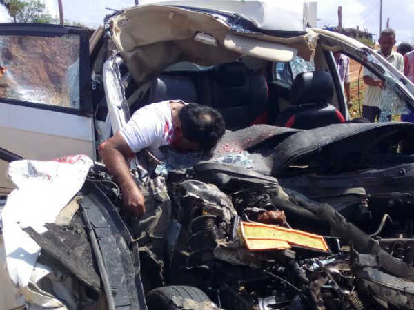 Four members of the same family were killed in road accident Vathalakundu