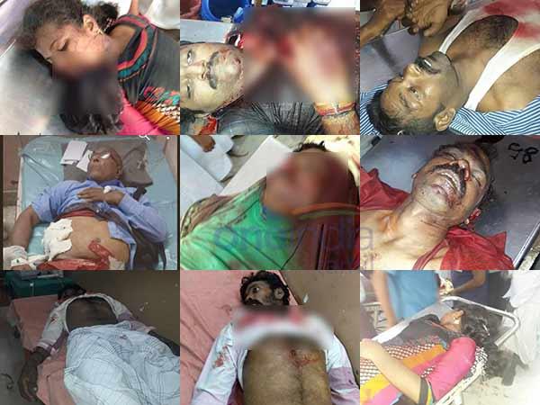 தூத்துக்குடி துப்பாக்கிச்சூட்டில் 13 பேர் பலி..  ஆட்சியர் சந்தீப் நந்தூரி அதிகாரப்பூர்வ தகவல்