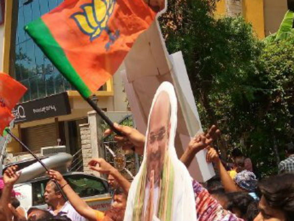 BJP stops celebrations all over India