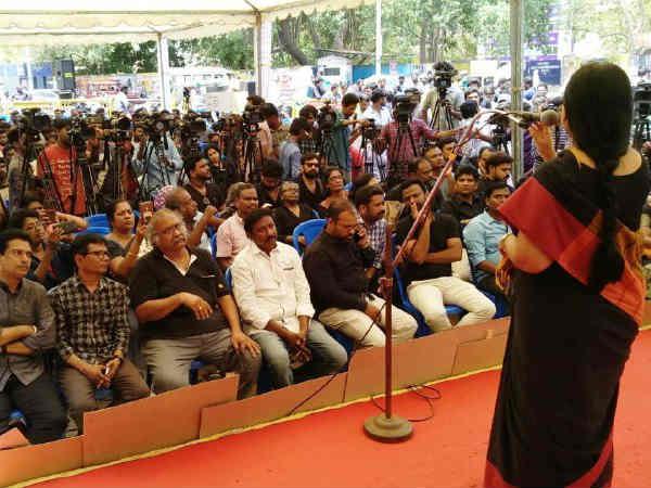 ஒன்றுபட்ட போராட்டங்கள்தான் மாற்றங்களை கொண்டு வரும்: சென்னையில் படைப்பாளிகள் அறைகூவல்